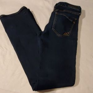 Express Boot Cut Low Rise Jeans Womens 6 Long